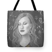 One And Only Tote Bag by The Art With A Heart By Charlotte Phillips