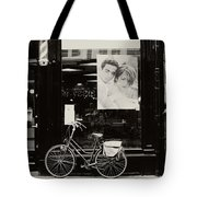 One Bike For Two. Trash Sketches From The Amsterdam Streets Tote Bag
