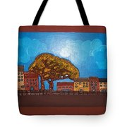 One Cloudy Day Tote Bag