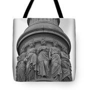 One Country Yorktown Tote Bag by Teresa Mucha