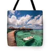 One Day At Heaven Tote Bag