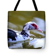 One Drop's Reflection Of The Muscovy Tote Bag