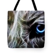 One Eye Tote Bag by Aged Pixel