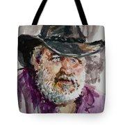 One Eyed Cowboy  Tote Bag