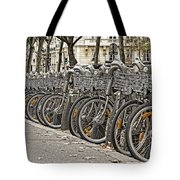 One Fine Morning In Paris Tote Bag