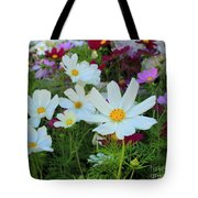 One Flower Stands Out Tote Bag