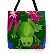 One Frogs Dinner Tote Bag
