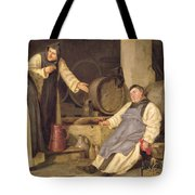 One Glass Too Many Tote Bag