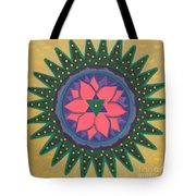 One Gold Bindu Tote Bag