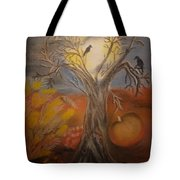 One Hallowed Eve Tote Bag