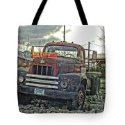 One Headlight International Tote Bag