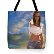 One Hot Day Tote Bag