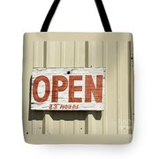 One Hour Lunch Tote Bag