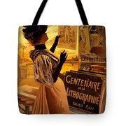 One Hundred Years Of Lithography Tote Bag