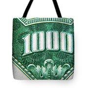 One K  Tote Bag