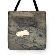 One Leaf Flowing Downstream Tote Bag
