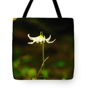 One Lily Almost Alone Tote Bag