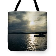 One Lonely Fisherman Tote Bag