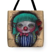 One Love Clown Tote Bag