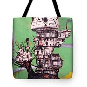 One Love Panda Tote Bag