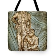 One More Shot - Rogers Group Statue Tote Bag