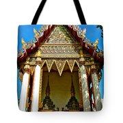 One Of Many Pagodas In Bangkok-thailand Tote Bag