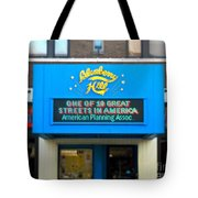 One Of Ten Great Streets In America Tote Bag