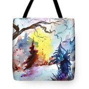 One Of These Mornings Tote Bag
