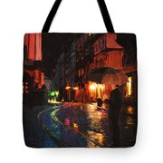 One Of These Nights Tote Bag