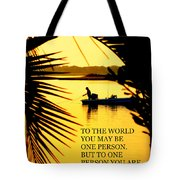 One Person Tote Bag
