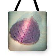 One Purple Leaf Tote Bag