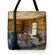 One Room Schoolhouse Tote Bag
