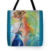 One Solitary Flower Tote Bag