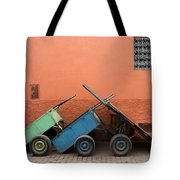 One Two Three Marlenas Tote Bag