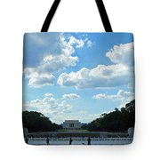 One View Two Memorials Tote Bag