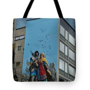 One Wall One Artist Tote Bag