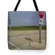 One Way Stop Tote Bag