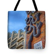 One Way To A Wrong Turn Tote Bag