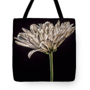 One White Flower Tote Bag