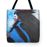 One With Raven Tote Bag