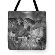 One With The Sea Tote Bag