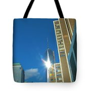 One World Trade Center Tote Bag by Dan Sproul