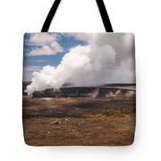 Ongoing Eruption Tote Bag