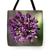 Onion Flower Tote Bag