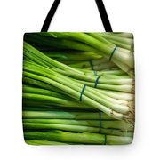 Onion With Chives Tote Bag