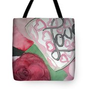 Only A Life Lived For Others Is A Life Worth While  Tote Bag
