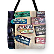 Only In Honolulu Tote Bag