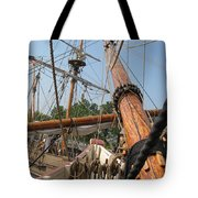 Only Masts Tote Bag