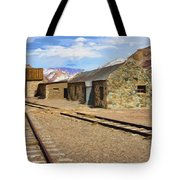 Only The Echoes Now Tote Bag