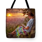 Only The Heart May Know Tote Bag